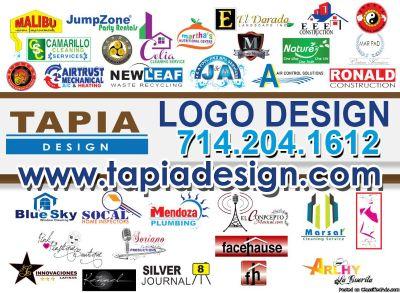 Logo Design in Anaheim-Orange County (714) 204