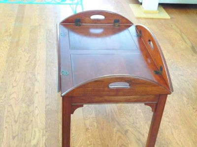 Vintage Mid Century Modern Butler's Table GREAT DEAL!!!!!!!!