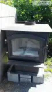 Like new Quadra-Fire wood stove