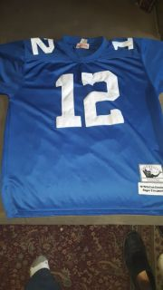 Men's size Large Roger Staubach Mitchell & Ness Throwback Jersey