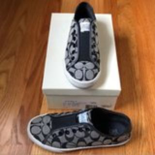 Coach sneakers Chucks style gym shoes size 7
