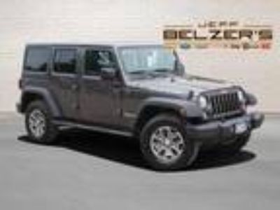 used 2017 Jeep Wrangler for sale.
