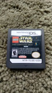 Nintendo DS game Lego Star Wars The Complete Saga. Works perfectly