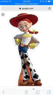 Jessie from Toy story girls costume