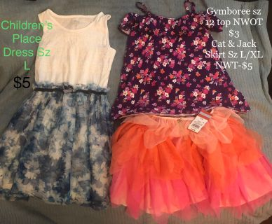 Girls Sz L *Back to school* clothes LIKE NeW