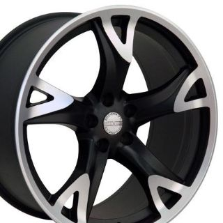 "Buy Single 20"" 370z Style Replica Wheel Matte Black Machined Face 20x8.5 Fits Nissan motorcycle in Sarasota, Florida, US, for US $182.30"