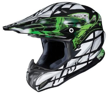 Purchase HJC RPHA-X Tempest Off Road Motorcycle Helmet Green Size XX-Large motorcycle in South Houston, Texas, US, for US $328.49