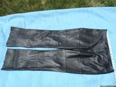 Womens Venus Williams Leather Pants