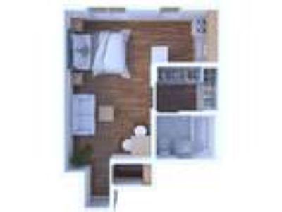 Gramercy Row Apartments - Studio Floor Plan S5