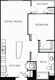 1 bedroom in Chinatown