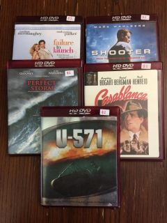 Various HD DVDs