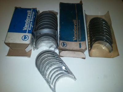 Sell Alfa Romeo NOS Main Engine Bearing lot Old Dealer Stock OEM VANDERVELL Clevite motorcycle in Santa Monica, California, United States, for US $99.00