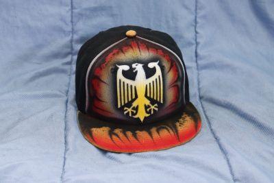 Custom flat brim hat