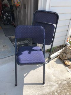 Four Folding Chairs $10