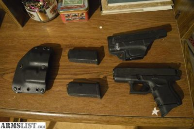 For Sale/Trade: Glock 33 Gen4 w/Holsters, 3x Magazines +Extras
