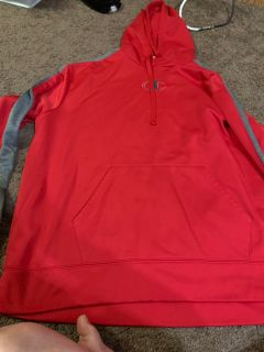 Red champion sweatshirt 2XL