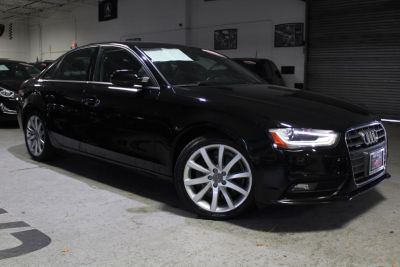 2013 Audi A4 2.0T quattro Premium Plus (Brilliant Black)