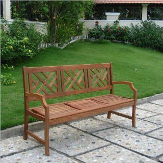 Furniture Sale Including this Outdoor Natural Wood Bench