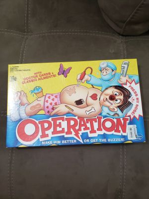 Board Game Operation. Like New! Played Once!