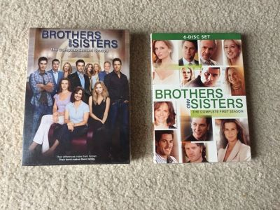 Brothers and Sisters Season 1 and 2. Never opened