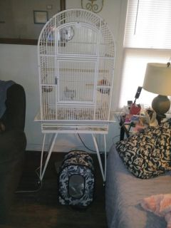 Large Bird Cage and Carrier...TRADE