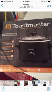 New in package 1.5 slow cooker crockpot