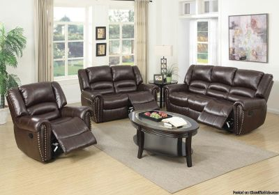 *-* 3 PCS MOTION SOFA SET *