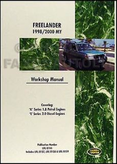 Buy Land Rover Freelander Shop Manual 1998 1999 2000 Repair Service Workshop Book motorcycle in Riverside, California, United States, for US $119.00