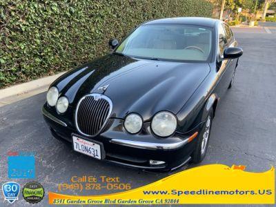 2003 Jaguar S-Type 3.0 (black)