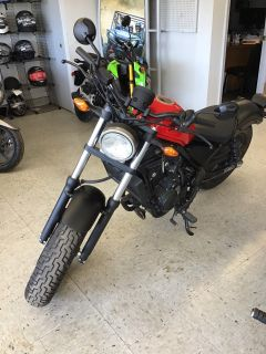 2017 Honda Rebel 500 Cruiser Harrison, AR