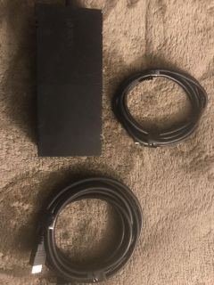 Xbox power block and 2hdm cords