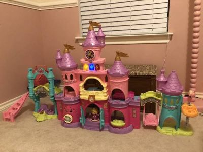 Vtech learning princess castle and doll