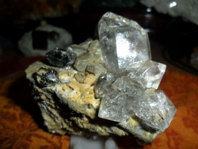 Exceptional Creation by Mother Earth  Herkimer Diamond Quartz Crystal Cluster