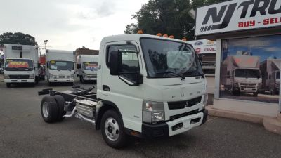 2012 Subaru FUSO FE125 Cab 'n Chassis Ideal for (White)