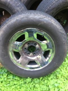 """2006 Ford F-150 17"""" Wheels/tires -4- 265/65/17"""