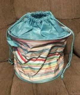New cinch top storage bin from Thirty One