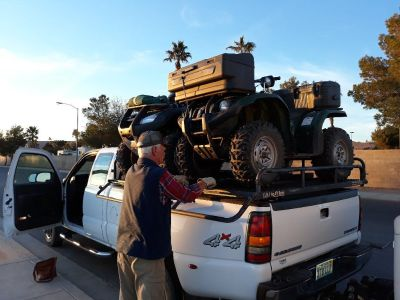 Bulldog ATV Rack