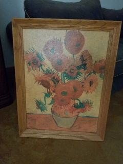 Van Gogh Sunflowers Reproduction