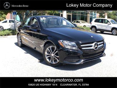 2016 Mercedes-Benz C-Class C300 Luxury (black)