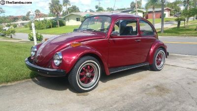 1971 VW Beetle with A/C Fully Restored