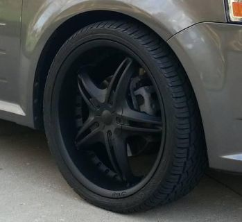 "Find 22"" Black D'Vinci Wheels and NEW Falken Tires motorcycle in Springboro, Ohio, US, for US $900.00"