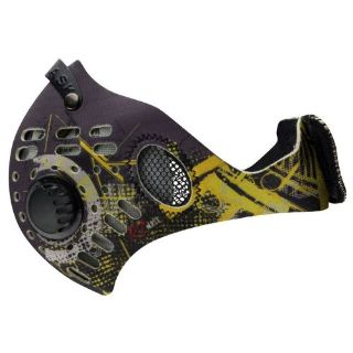Purchase RZ Mask M1 Digi Yellow Air Filtration Adult Protective Masks motorcycle in Manitowoc, Wisconsin, United States, for US $26.95