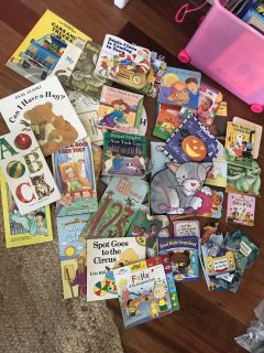 HUGE (stopped counting at 40) lot of TODDLER BOOKS