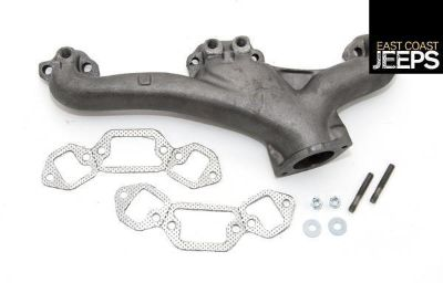 Purchase 17622.09 OMIX-ADA Exhaust Manifold Kit, 72-91 Jeep'sJ Models, by Omix-ada motorcycle in Smyrna, Georgia, US, for US $142.91