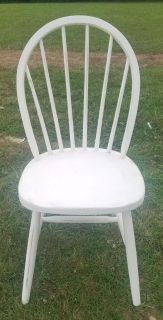 Country White Farmstyle Chair (Desk or Dining)
