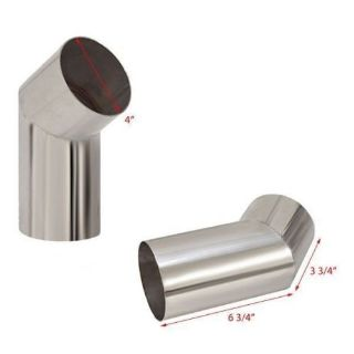 Buy KB PERFORMANCE MERCURY VOLVO BOAT 4 INCH EXHAUST ELBOWS STAINLESS PAIR 9637-RK motorcycle in Hales Corners, Wisconsin, United States, for US $179.95