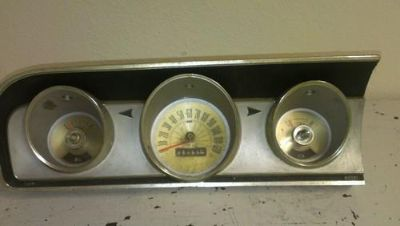 Sell 1964 Ford Fairlane 500 dash with gauges motorcycle in Orlando, Florida, US, for US $70.00