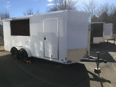 2019 Other 7x16 VNose Enclosed Trailer