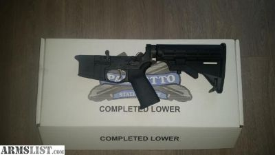 For Sale: Complete AR-15 lower
