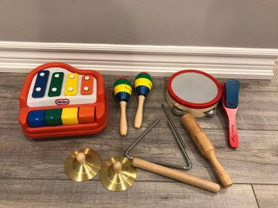 Melissa and Doug Band in a Box and Piano